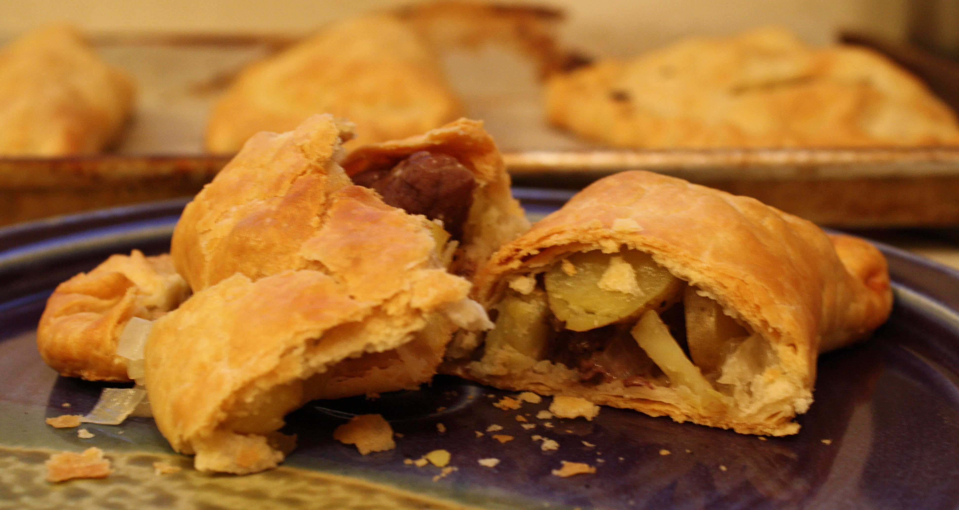 The classic recipe for pasties 45